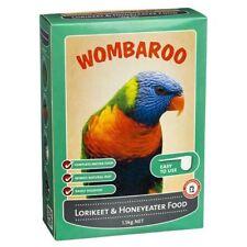 Wombaroo Lorikeet and Honeyeater Food Bird Aviary 1.5kg