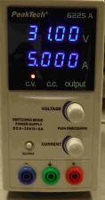 Peaktech 6225a Labor-Schaltnetzteil DC 1 - 30 V/0 - 5 A