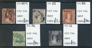 Natal1863 to 1872 run of 5 Queen Victoria used (2019/04/26#02)