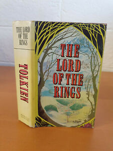 J. R. R. TOLKIEN The Lord of the Rings - complete edition 1973 in d/j - w