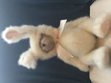 Bearington Collection TEDDY BEAR IN WHITE BUNNY SUIT Plush Stuffed Animal 17""