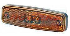 RUBBOLITE M891 AMBER SIDE LED MARKER LAMP LIGHT TRUCK LORRY TRAILER BUS COACH