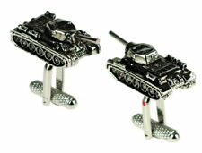 Super Tank Army Cufflinks  New & Boxed by Onyx-Art London CK659