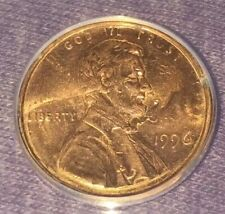 Double-Struck Error Coin Rotated In Collar Lincoln Cent 2 Dates 2 Lincoln Bsts