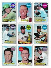 *1969 Topps 6th Series Baseball PICK LOT-YOU Pick any 1 of 7 cards for $1!*