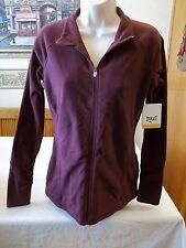 Women's Missy Everlast Fleece Jacket Full Zip Wine MEDIUM NEW