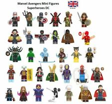 Marvel Avengers Mini Figures Superheroes DC Thor Iron Man Hulk Deadpool