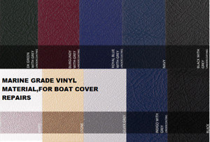 Marine Grade Vinyl Material For Boat Cover Repairs/ PVC Material Cover patches