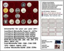 Look 12334-24-46 Plateau pour Monnaies 24 Cases 46 mm pour 10 Canada Dollar En