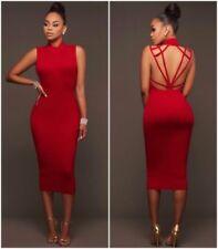 Unbranded Backless Dresses Midi