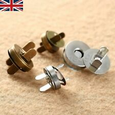 Durable 10/50Sets Purse Closures Sewing Button 14/18mm Magnetic Fastener Snaps