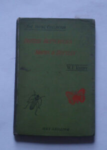 BRITISH BUTTERFLIES, MOTHS & BEETLES by W Kirby: Natural History / Insects 1892