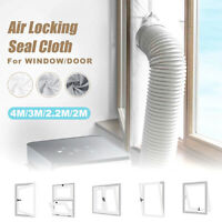 2-4M Window Sliding Door Seal Kit Cloth Air Locking For Portable Air Conditioner