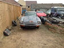 Jaguar E Type Series 2   4.2 Automatic Barn find LHD American Import