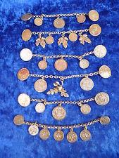 6 schöne,alte Trachtenketten__Charivaris__Münzen__!