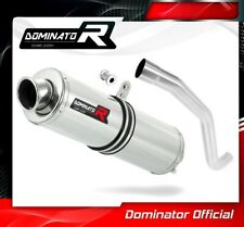 TIGER 1050 Exhaust ROUND Dominator Racing silencer muffler 2006 2007 2008 2009