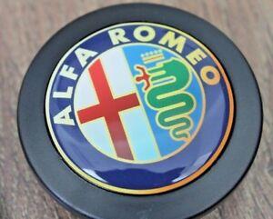 Horn Button fits Alfa Romeo Badge Fits MOMO RAID SPARCO OMP NRG Steering wheel