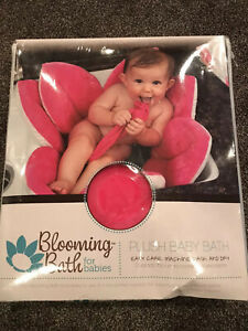 Blooming Bath For Babies. Plush Baby Bath. Brand New Never Used