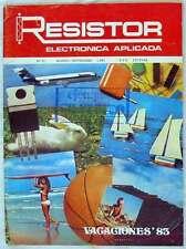 RESISTOR - REVISTA DE ELECTRÓNICA APLICADA - Nº 31 SEPTIEMBRE 1983 - VER SUMARIO