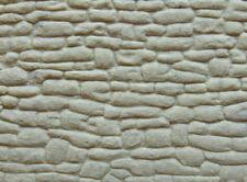 Muro in pietra grigia per modellismo scala 1:35 cm.22X13 - Krea 3007