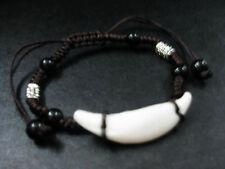 gothic white tibet jewelry amulet bangle cool men's ethnic biker bracelet
