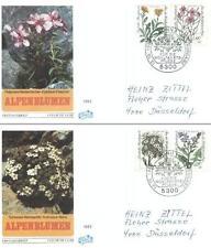 Germany 1983 FDC 1188-91f Kwiaty Blumen Flowers