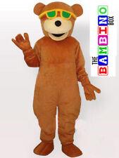Cool Bear Mascot Costume Plush/Fancy Dress Teddy Bear Outfit