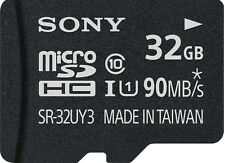 Sony 32 GB SR-UY3A microSD Memory Card with Adapter 90MB/s 32GB