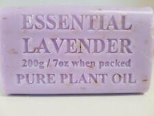 200g Lavender Natural Vegetable Oil Soap x 1 bar