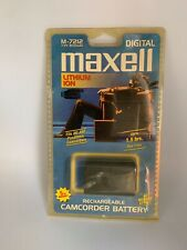 Vintage NEW Maxell M-7212 Rechargeable Camcorder Battery