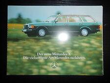 Postkarten Mercedes Benz 230 T 250 T 240 TD 300 TD 280 TE Daimler Benz AG