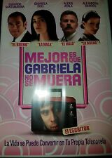 Mejor Es Que Gabriela No Se Muera (DVD, 2011) NEW AND SEALED