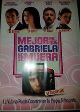 Mejor Es Que Gabriela No Se Muera (DVD, 2011) NEW AND SEALED