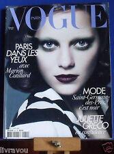▬►Vogue 910 Septembre 2010 Marion Cotillard_Juliette Gréco_Fashion Haute Couture