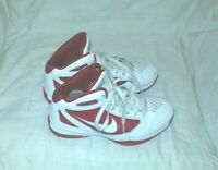 NIKE FLYWIRE HIGH TOP LEATHER BASKETBALL SHOES ( SIZE 6.5 ) WOMEN`S