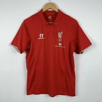 Warrior Liverpool FC Mens Soccer Football Jersey Size Medium Red Short Sleeve