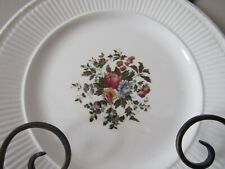 """Set of 4 Wedgwood EDME """"Conway"""" Pattern Pieces-3 Saucers & 1 Plate (GREAT FIND)"""