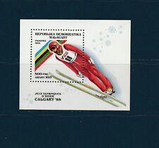 Madagascar  bloc  jeux olympiques   Calgary  1988  num: 44  **