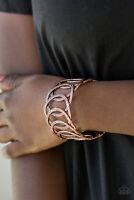 Paparazzi Jewelry Bracelet ~ Circa de Contender - Copper
