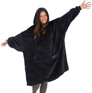 The Comfy Dream Lite Oversized Wearable Blanket Sweatshirt - Navy