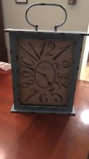 Wall clock- new from Marshall's- 17x20inches