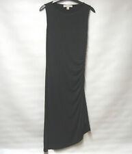 MICHAEL KORS BODYCON ASYMMETRIC DRESS QUIRKY ZIP UK 12 RN#111818 NET A PORTER