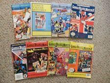 8 Vintage 1990's COMIC VALUES MONTHLY Magazines