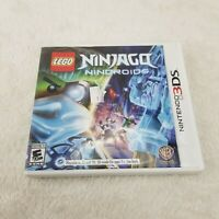LEGO Ninjago: Nindroids (Nintendo 3DS, 2014) Complete with Manual, Case, Game