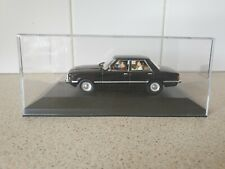 UH / MDM  - FORD TAUNUS - BLACK - 1/43 SCALE - MOUNTED IN CASE