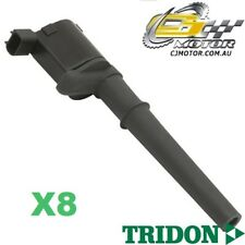 TRIDON IGNITION COIL x8 FOR Ford  Falcon FPV BA-GT(P) 03-04, V8, 5.4L Boss 290