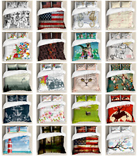 Ambesonne Pillow Shams Bedding Set Duvet Cover Set with Twin Queen King Sizes