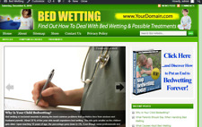 Child Bed Wetting Store Website Free Installation + Free Hosting