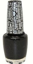 OPI Nail Polish Lacquer Varnish RARE Ltd Edn Katy Perry E53 Black Shatter 15ml