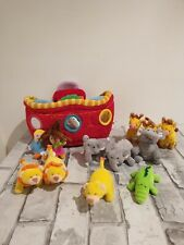 Lilliputiens Soft Noahs Ark With Animals Plush